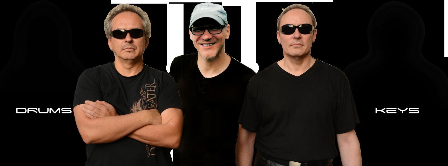 Dark Matter Symmetry - die aktuelle Besetzung: Leo, Alex, Tom
